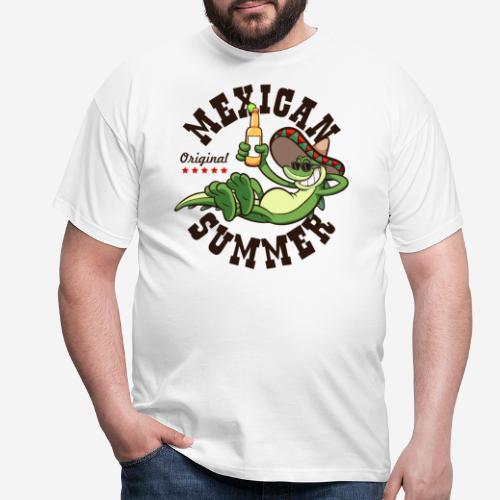 mexikanischer Sommer Mexiko - Männer T-Shirt