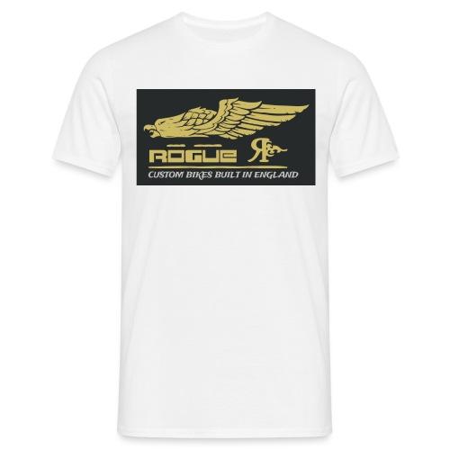 Rogue Custom Bikes art - Men's T-Shirt