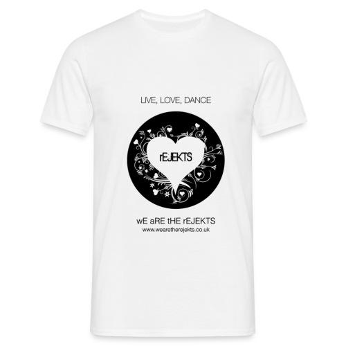 Live Love Dance - Men's T-Shirt