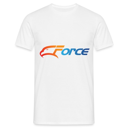 Force Orange/Blue - T-shirt herr