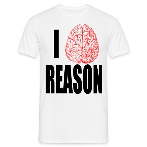 I Heart REASON - Men's T-Shirt