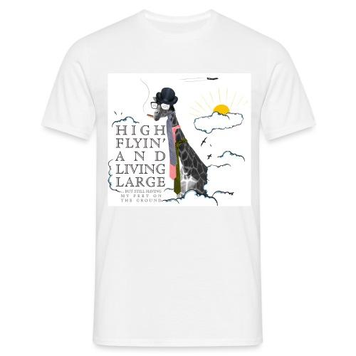 High flying Giraffe - Miesten t-paita