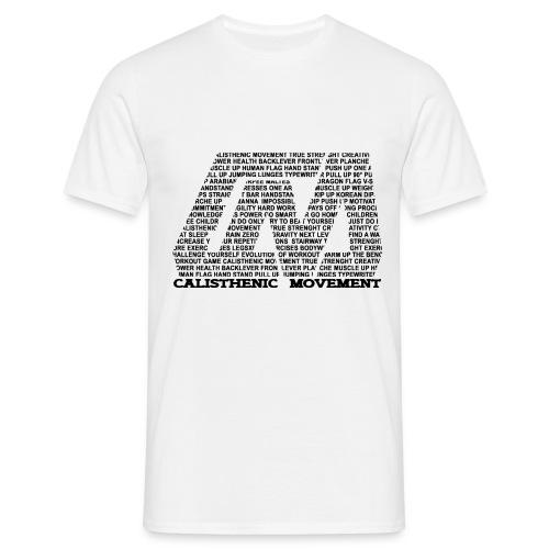 CM Logo aus Text schwarz - Männer T-Shirt