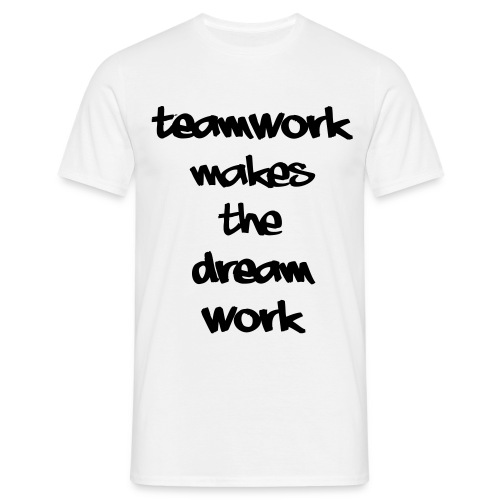 Teamwork - Mannen T-shirt