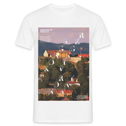 The Fortress Kongsvinger - T-skjorte for menn