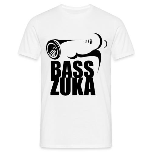 basszuka schwarz png - Männer T-Shirt