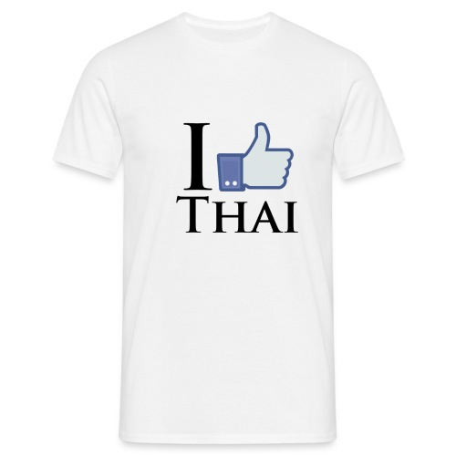 I Like Thai Weiss - Men's T-Shirt