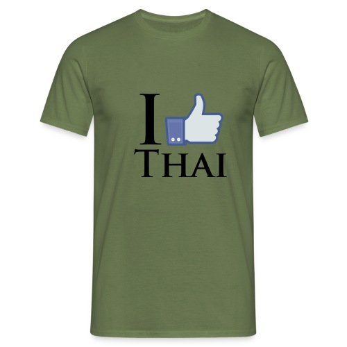 I Like Thai Weiss - Men's T-Shirt