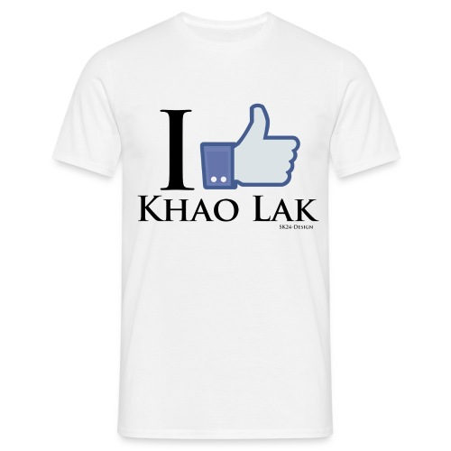 Like Khao Lak Black - Männer T-Shirt