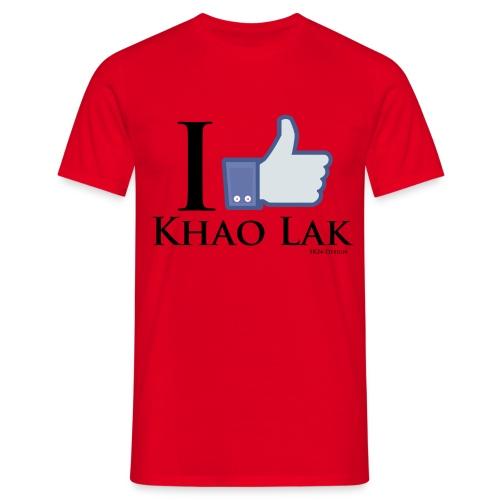 Like Khao Lak Black - Männer T-Shirt