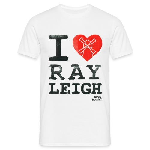 ILoveRayleigh png - Men's T-Shirt