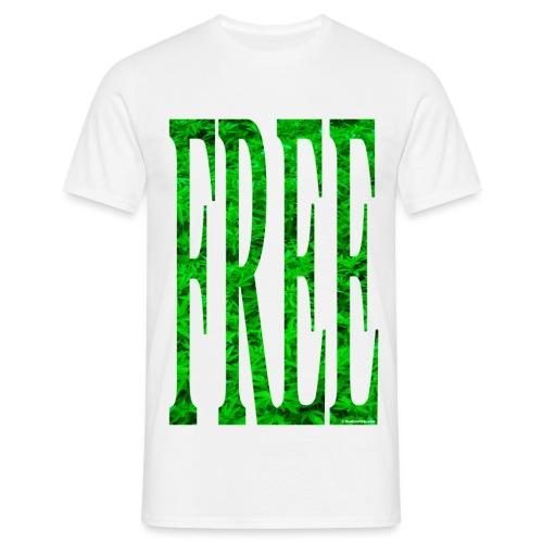free cannabis - Men's T-Shirt