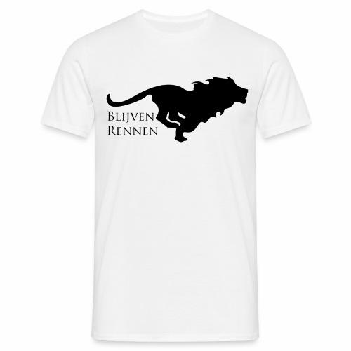 running-lion - Mannen T-shirt
