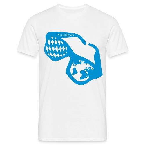 Bayrische Kulturbrille - Männer T-Shirt