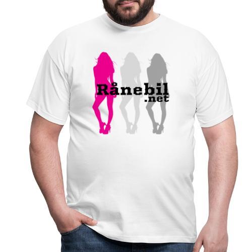 Rånebil-damer2 - T-skjorte for menn