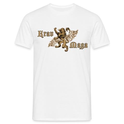 Krav Maga Lion Crest - Men's T-Shirt