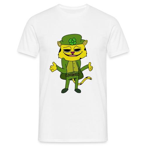 2 leopardchaun copy - Men's T-Shirt