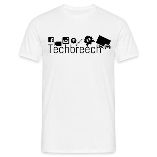 Logotype Techbreech - T-shirt herr