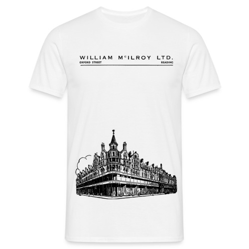 McIlroy's Department Store (White) - Men's T-Shirt