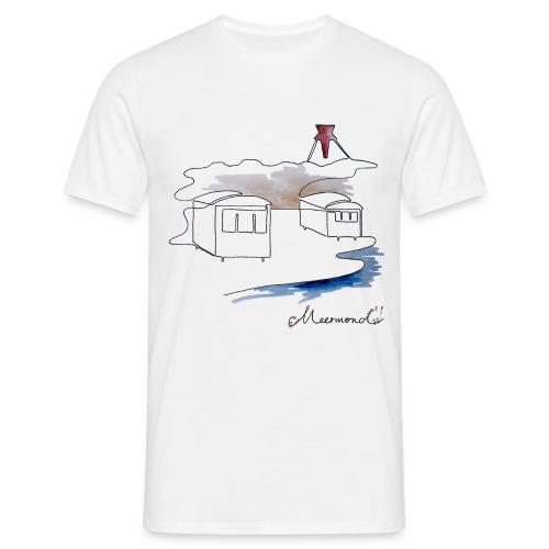 Blokhus 1 - logo - Herre-T-shirt