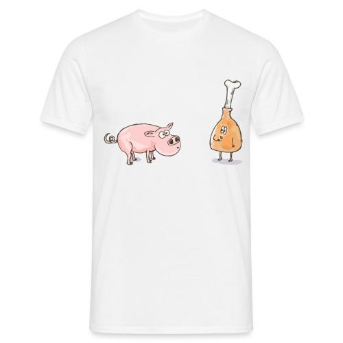 Le cochon et le jambon - T-shirt Homme