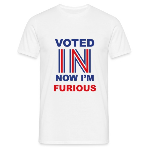 Voted IN - Men's T-Shirt