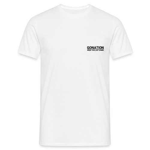GONATION Official Jersey 2018/2019 White - Männer T-Shirt