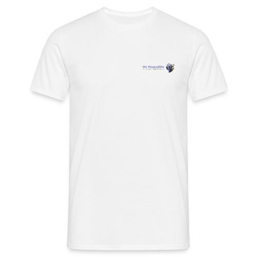 wasserflohlogogross - Männer T-Shirt