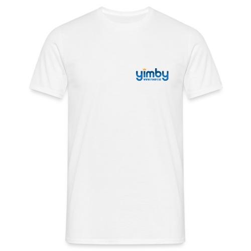 yimbylogo - T-shirt herr