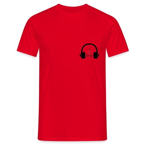 I LOVE MUSIC - Miesten t-paita