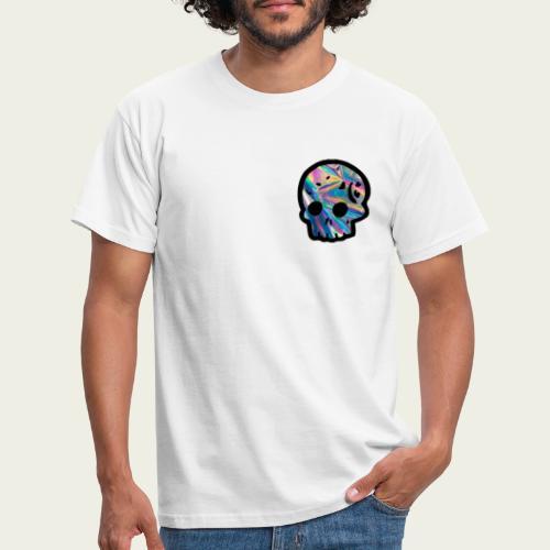Skull craneo reflejante - Camiseta hombre