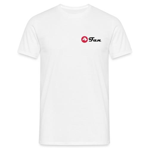 mein-zelt-steht-schon - Shirt klimaneutral (hell) - Männer T-Shirt