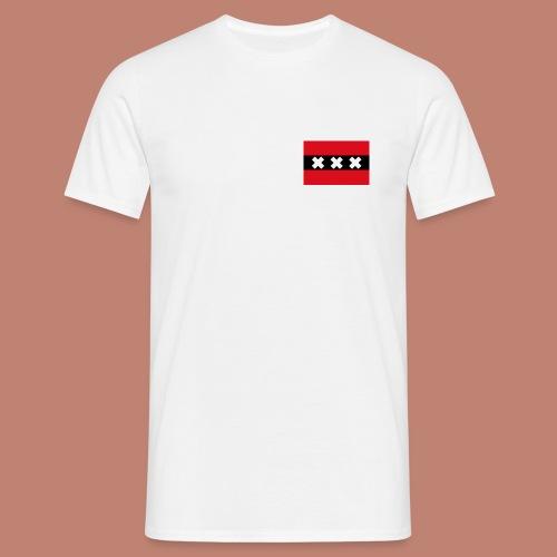 Amsterdam Capital Flag - Mannen T-shirt