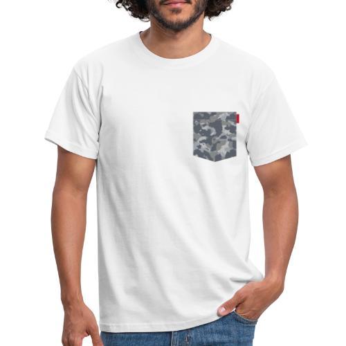 Digital Urban Camo Patch - Men's T-Shirt