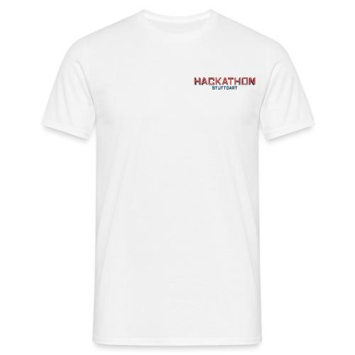 Hackathon Stuttgart 01 png - Männer T-Shirt