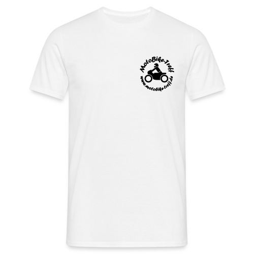 logoblack bereinigt 8 - Männer T-Shirt