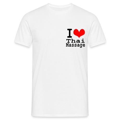 I love Thai massage - Men's T-Shirt