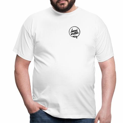 hw logo sw - Männer T-Shirt