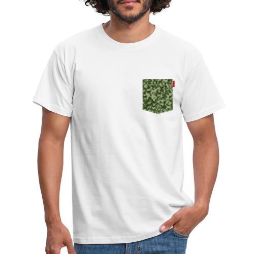 Woodland Camo Patch - Men's T-Shirt