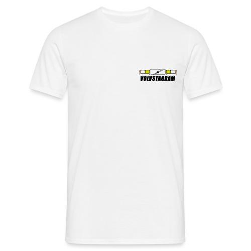 Volvstagram Black - T-skjorte for menn