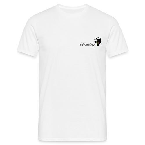 logo robotrockerz 1 - Männer T-Shirt