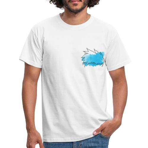 Blue Splat Original - Men's T-Shirt