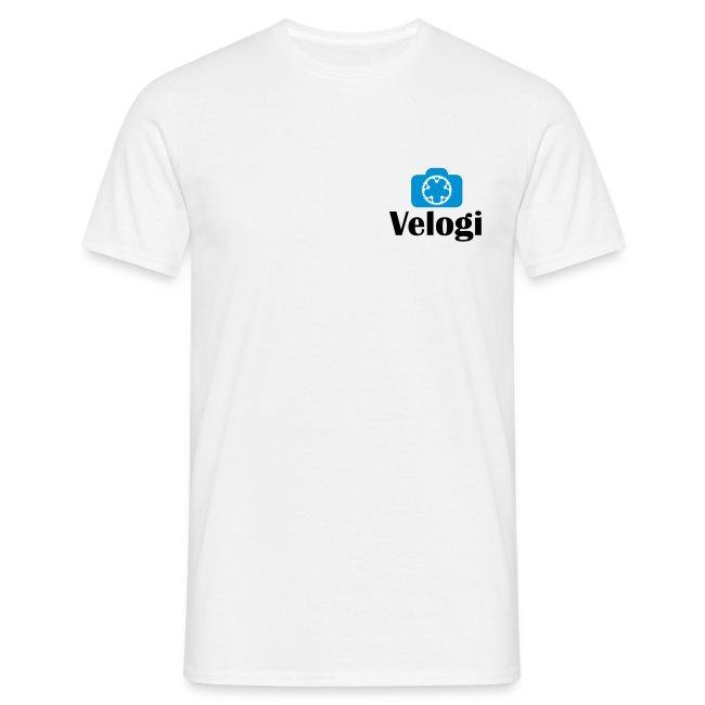 Velogi logo cyan black