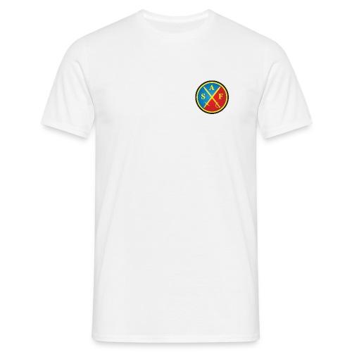 saf logo 2009 png - T-shirt herr