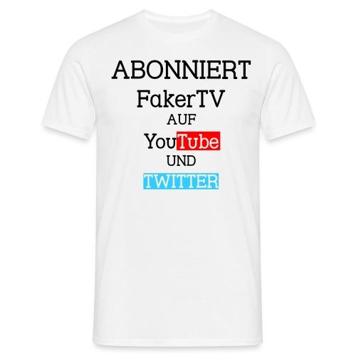 Merchandising png - Männer T-Shirt