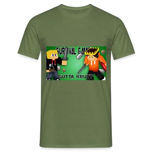 haakon jpg - T-skjorte for menn