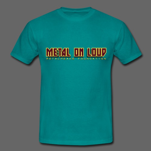 MOL Letter Logo Randy - Men's T-Shirt