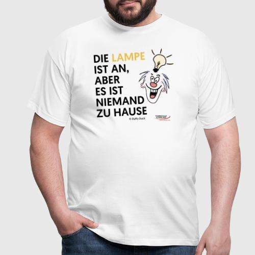 Lampe an - Männer T-Shirt