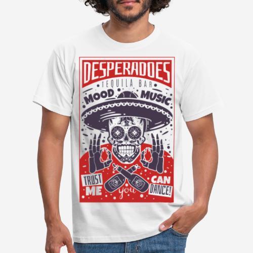 desperadoes mexican tequila - Männer T-Shirt