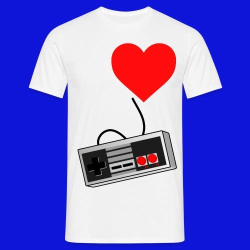 2000px Heart corazón svg png - Men's T-Shirt